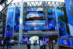 Image result for mumbai IPL stadium entrance Fan Army, Mumbai, Entrance, Times Square, Image, Entryway, Bombay Cat, Door Entry