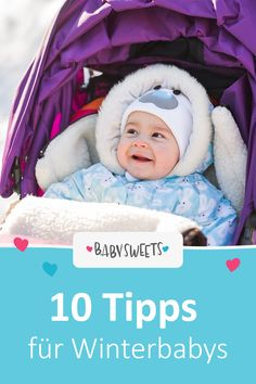 Winter babies are born in cold months and leave the warm womb for it. This is not easy for the little ones, after all, they are used to nine months of warmth. Baby Shower Winter, Baby Winter, Winter Babies, Baby Must Haves, Baby Shower Mixto, Adolescents, Baby Arrival, First Baby, Baby Hacks