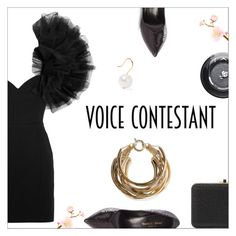 """TV Fashion: The Voice"" by danielle-487 ❤ liked on Polyvore featuring Yves Saint Laurent, Rosantica, Judith Leiber, Lancôme, Aurélie Bidermann, thevoice and YahooView"
