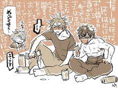 【刀剣乱舞】お酒と刀剣男士【漫画】