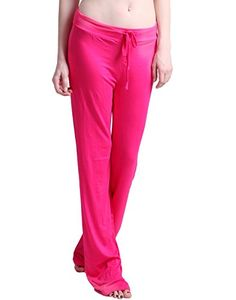 a5eea6410 HDE Womens Stretchy Loose Yoga Gym Sports Athletic Drawstring Lounge Pants  Hot Pink XLarge * BEST VALUE BUY on Amazon #MaternitySleepwear