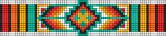 Alpha Friendship Bracelet Pattern #12247 - BraceletBook.com