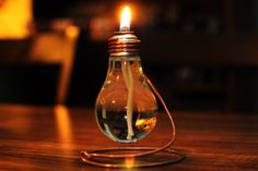 cute lightbulb candles on etsy!