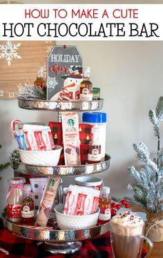 How to Make a Hot Chocolate Bar - Faithfully Gluten Free , Holiday Treats, Christmas Treats, Holiday Parties, Christmas Recipes, Christmas Eve, Chocolate Bomb, Hot Chocolate Bars, Hot Cocoa Bar, Cherry Recipes