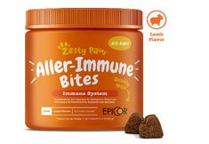 [ Zesty Paws Allergy Immune Supplement for Dogs - with Omega 3 Wild Alaskan Salmon Fish Oil & EpiCor + Digestive Prebiotics & Probiotics - Anti Itch & Skin Hot Spots + Seasonal Allergies - 90 Chews ] Supplies Supplies Remedies Peanut Butter For Dogs, Joint Supplements For Dogs, Prebiotics And Probiotics, Seasonal Allergies, Dog Itching, Grain Free, Dog Food Recipes, Health Recipes, Pets