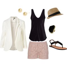 blush and black-love this color combo
