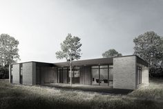 Modern Lake House, Small Modern Home, Modern Exterior House Designs, Exterior Design, Architect House, Architect Design, Concept Architecture, Modern Architecture, Casa Top