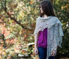 Sea Fog #laceeaterdesigns #laceknitting #crescentshawl #knitting