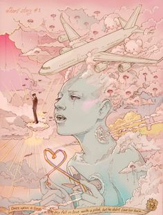 Martineken Blog • Stunning illustrations by Chiara Bautista still one of the coolest artworks ever