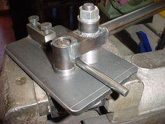 Bender, roller tools, Round bar benders