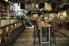 MOJO´S Eatertainment http://www.estida.nl/portfolio-posts/mojos-eatertainment-alkmaar/ #restaurant #interior #ESTIDA