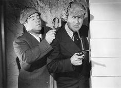 WHO DONE IT? - Bud Abbott & Lou Costello - Universal - Publicity Still.