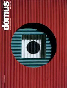 cMag225 - Domus Magazine cover by Giulio Confalonieri / 1957