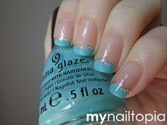 my nailtopia: Pastel Tips! #nail #nails #nailart