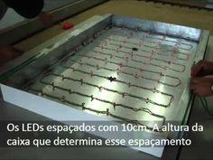 LED na Fachada de ACM - YouTube