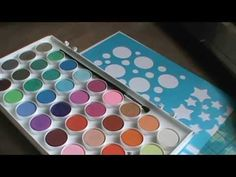 Cool Technique with watercolor paints and Crayola Markers - YouTube