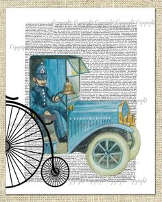 Dressed in blue ,the funny Victorian policeman goes about his day!  All personally hand painted works of Art, no copies are used here!  Painted with love and passion!  Add a little laughter to you life!  • Size inches; ( 8 x 10) inch. Size cm; (20 x 26 cm)  • Size inches; (12 X 16) inch. Size cm; (30 X 43 cm)  • Printed using lightfast inks that last for 100 years plus.   • Brilliant colour clarity and detail.  • Light fast for 100 years plus using Ultrachrome professional ink systems. •…