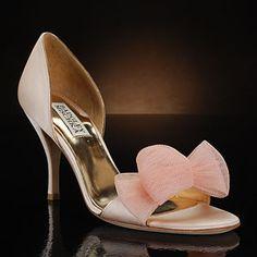 My Wedding Shoes-Badgley Mischka Xango Pink Pumps