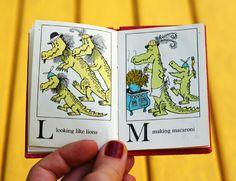 Alligators All Around: A Maurice Sendak Alphabet Book from 1962 | Brain Pickings