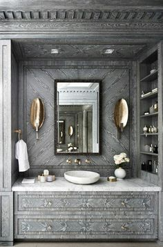 Beautiful vanity inspiration to build a bathroom dream #InteriorDesign #GoodLife