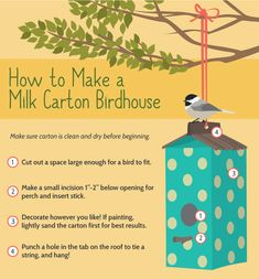 A Quick Guide To Building The Perfect Birdhouse  http://www.rodalesorganiclife.com/garden/a-quick-guide-to-building-the-perfect-birdhouse?cid=NL_YourOrganicLife_-_070616_Birdhouse_Article
