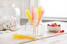Make Your Own Halloween Candy This Year: DIY Rock Candy from Home Made Simple