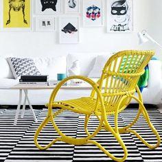 #garden#furniture#gardenfurniture#design#trend#trendlife#møbler#hagemøbler#pario#wicker#outdoor#living#yellow#home#style#interior#chair#seat...