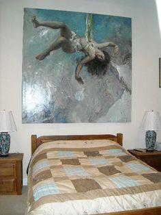 """Jose Royo's """"Ingravido 34"""" in private residence, San Francisco, CA. 2008. www.robinrile.com"""