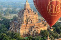 Bagan, Myanmar hot air balloon
