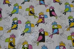 pro děti   Papoušci   šití Renata