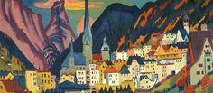 Ernst Ludwig Kirchner-- Davos