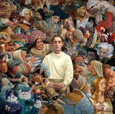 James Christensen - The Listener by Hidden Ridge Gallery, via Flickr