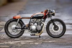 Fate Customs Honda CB550 ~ Return of the Cafe Racers