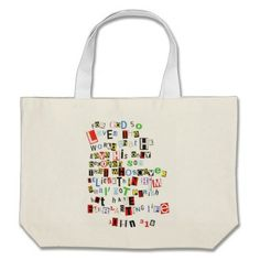 John 3:16 canvas bag