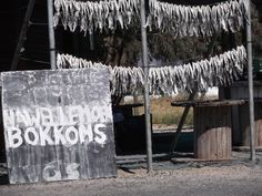 Veldrif, dried Bokkoms being sold on the side of the road South Africa, Home Decor, Decoration Home, Room Decor, Home Interior Design, Home Decoration, Interior Design
