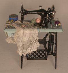 Sewing Machine by Gale Elena Bantock