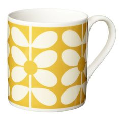 Orla Kiely mugs to compliment any retro or contemporary home and would make a perfect gift. This mug has a capacity of and comes in Orla Kiely Sixties Stem print pattern.