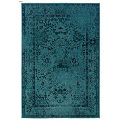 This is pretty perfect.... Oriental Weavers Revival 550H Aqua Area Rug -