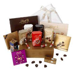 Lindt Boxed Chocolate Hamper