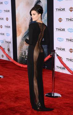 Jaimie Alexander - 'Thor: The Dark World' LA Premiere