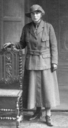 The Honourable Evelina Haverfield founder of the Womens Emergency Corps in 1914 formed the WVR as a uniformed offshoot that same year.It was one of the earliest wartime women's organisations to be founded. The Women's Volunteer Reserve was sponsored by the Marchioness of Londonderry, the Marchioness of Titchfield and the Countess of Pembroke and Montgomery.