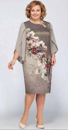 2018 Floral Print Dress Women Fashion Summer Chiffon Plus Size Dresses Dress Outfits, Casual Dresses, Short Dresses, Formal Dresses, African Fashion Dresses, African Dress, Plus Size Dresses, Plus Size Outfits, Mothers Dresses