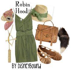 Robin Hood disneybound