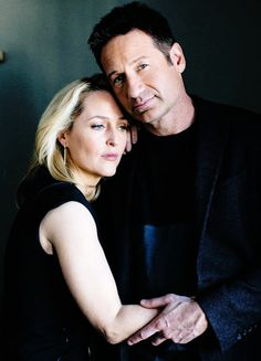 andersondaily:  Gillian Anderson & David Duchovny photographed by Brinson+Banks.