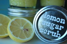My mother, sister in law, and I all fell in love with a Lemon Sugar scrub we got in our birchboxes.  Apparently it instantly sold out there so I'm looking for a DIY substitute...maybe this one?