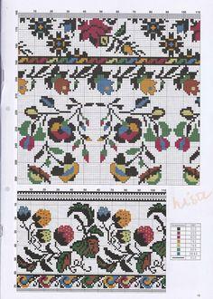Квіткова стилізація схема #1