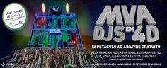 Lisboa vai ser palco de espetáculo inédito gratuito com música ao vivo, vídeo 3D e efeitos especiais e sensoriais! | Escapadelas | #Portugal #Lisboa #3D #Espetaculo #DJ #Musica #Video