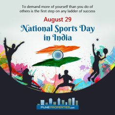 National Sports Day in India is celebrated on August 29.  We congratulate all…