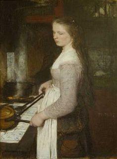 Matthijs Maris, The kitchen princess. The Hague, Museum Mesdag