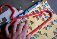 Clothespin Bag Tutorial - we need a new one - gotta try this.